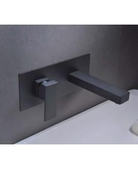 empotrado lavabo negro suiza