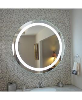 espejo baño redondo con led
