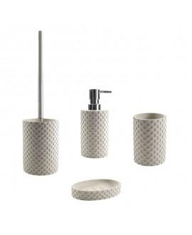 accesorios baño piedra