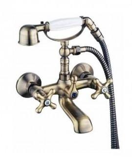 grifo bañera bronce