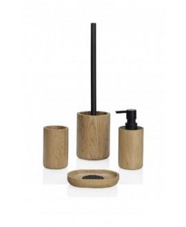 accesorio baño madera