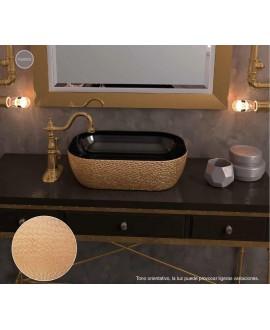 lavabo pan de oro