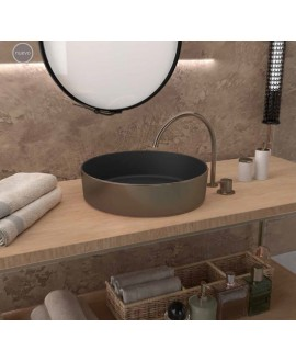 lavabo bronce