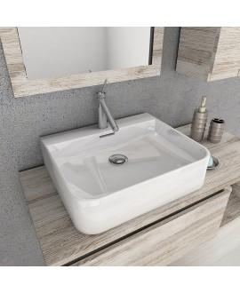 lavabo pared bord