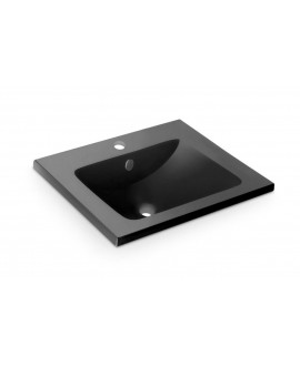 lavabo mueble negro
