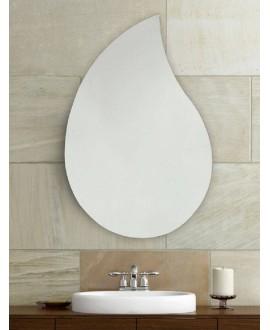 espejo baño gota de agua