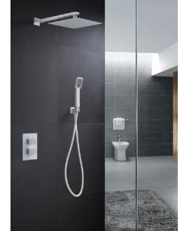 ducha empotrada blanca