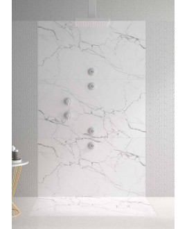 plato ducha marmol 3d