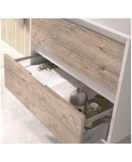 detalles cajon mueble baño