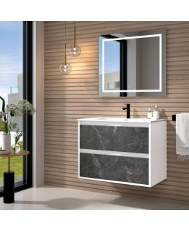 mueble baño marmol