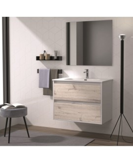 mueble baño suspendido moderno