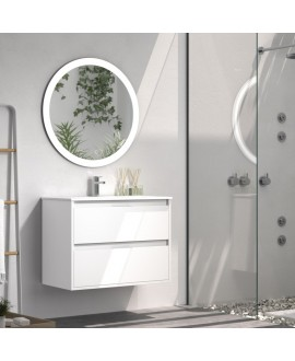 mueble baño blanco mate