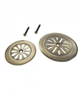 rejilla plato ducha bronce