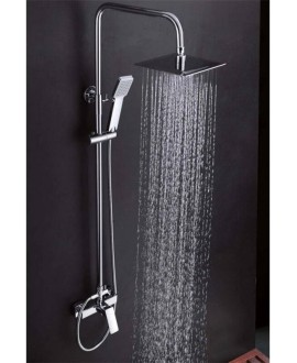 columna ducha cuadrada