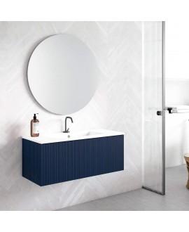 mueble baño azul marino