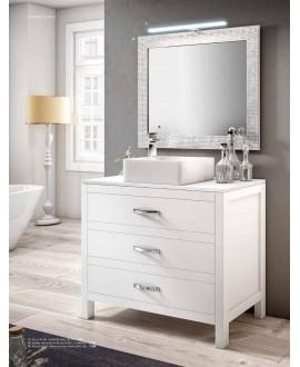 mueble baño madera moderno