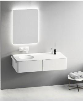 mueble baño redondo