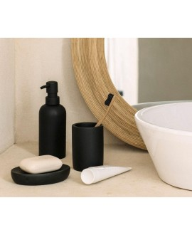 accesorios baño negro