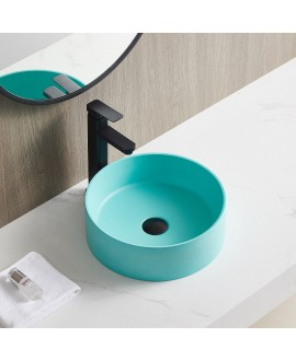 lavabo turquesa