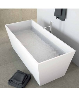 bañera kube solid surface
