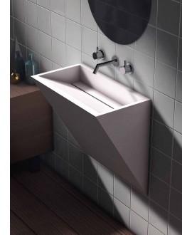 lavabo a pared minimal