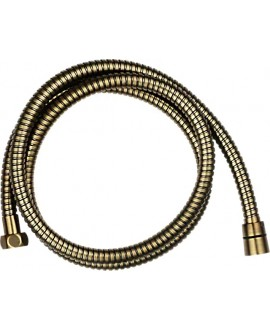 cable ducha bronce