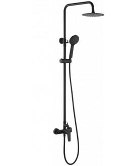 columna ducha belgica negro