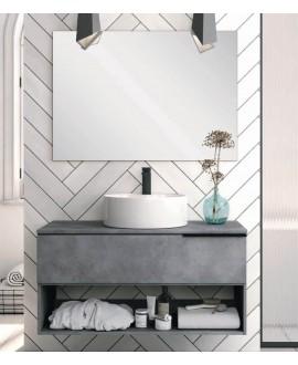 mueble baño cemento