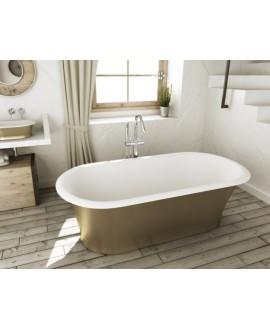 bañera oro