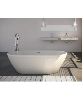 bañera de pie